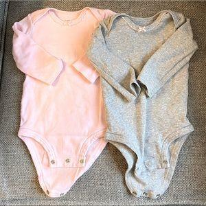 2 Little Planet Organic Cotton Bodysuits